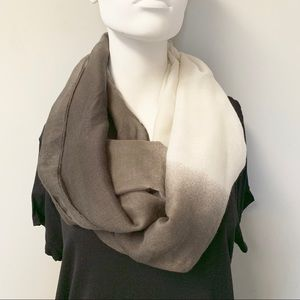 "🎈20% OFF SALE🎈""Gray Ombré Infinity Scarf"""